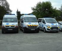Ambulance à Mael Carhaix