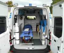 Ambulance à CARHAIX